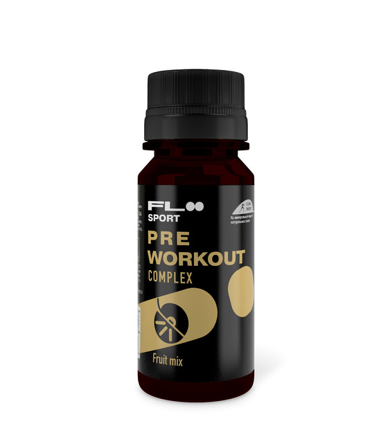 PRE WORKOUT Complex Fruit mix, 60 мл