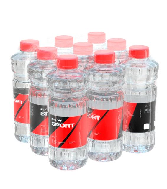 9 бутылок FLOO вода Cycle-SE, 7.8