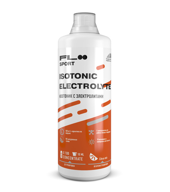 Isotonic Electrolyte Citrus mix 1000ml