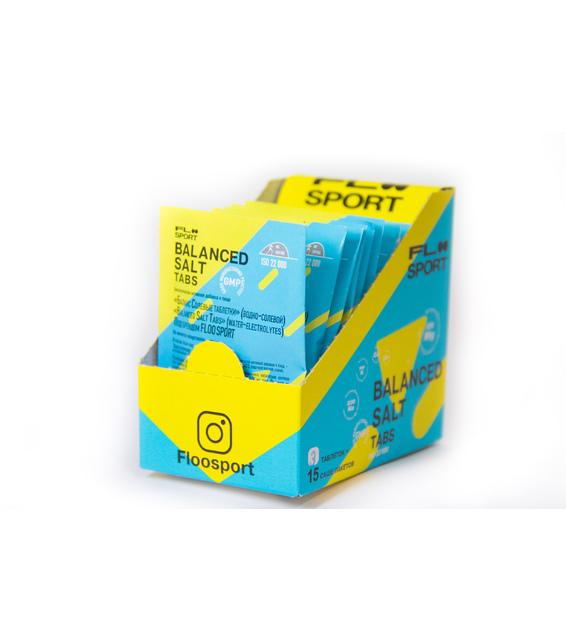 Balanced Salt Tabs Солевые таблетки 15 саше по 3 таблетки